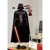 Déco STAR WARS sticker repositionnable géant Dark Vador 92x178cm