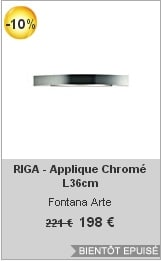 soldes lightonline-applique-riga-chrome