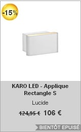 soldes lightonline-karo-led-applique